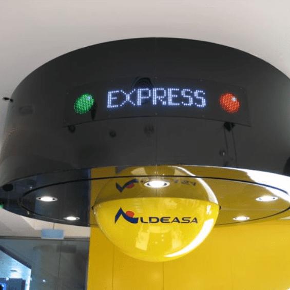 gama vms02 - Textel pantallas LED informativas son imprescindibles